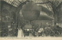 SALON DE L'AERONAUTIQUE 1908 |
