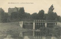 Le Pont du Moulin et l'Eglise |