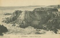 Cartolis Quiberon (Morbihan) - Rochers de Monir Jacob