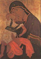 La Vierge Pelagonitissa (Galerie d'art Skopje, 1422) |