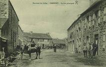 Environs de Callac - La Rue principale  