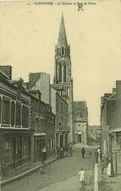 Le Clocher et Rue de Dinan  