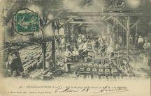 Hall de Moulage des Fonderies de MM. A. et C. Brisou | Le MICHEL