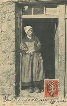 Femme Fumant la Pipe  