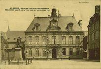 HOTEL DE VILLE, SUR L'EMPLACEMENT DE TREGOMAR ACHETE PAR LA VILLE POUR S'Y INSTALLER EN 1867 |