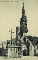 L'Eglise et le Calvaire | Circuits des auto-cars de Cornouaille