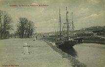 Le Port et la Promenade de la Rabine |