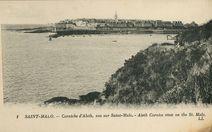 Corniche d'Aleth, vue sur Saint-Malo. | Lévy et Neurdein