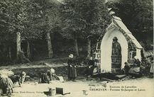 Environs de Lanvollon - Fontaine St-Jacques et Lavoir |