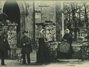 Portail de l'Eglise et Costumes | Bailly Ch.