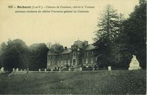 Château de Caradeuc, côté de la Terrasse |