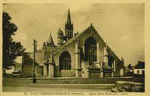 Saint-Guénolé - Penmarch. Eglise Saint-Nona (XVIe siècle)
