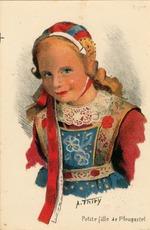 Petite fille de Plougastel | Thiry A.
