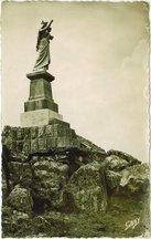 Statue de la Vierge de la Montagne Noire en Cudel |