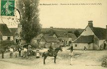 Hameau de St-Quentin et Arbre de la Liberté (1848)  