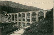 Joli de Pont de Cize-Bolozon sur la Rivière d'Ain | Vialatte F.