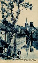 Le Trieux et l'Eglise Notre Dame de Bon Secours |