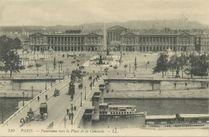 Panorama vers la Place de la Concorde |