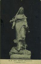Notre-Dame des Dunes. J.Vallet, sculpteur |