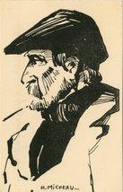 Vieux pêcheur du Conquet, province de Léon Pesketer Koz eus Konk-Leon, Bro Leon | Micheau-vernez Robert