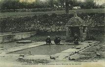 La Fontaine Saint-Martin et le Lavoir |