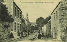 Environs de Guingamp - Un Coin du Bourg |