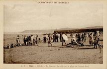Le Concours de sable sur la plage de l'Avant-Port |