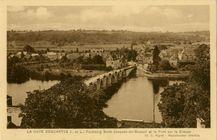Faubourg Saint-Jacques-de-Bruxeuil et le Pont sur la Creuse |