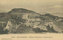 Plateau du Revard et le Mont-Blanc |