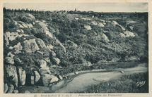 PLOUMANACH (C.-DU-N.) - Pittoresque vallon des Traouïéros |