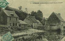 Le Grand Moulin (Année 1674) sur le Scorff |