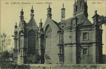 L'Eglise, l'Abside |