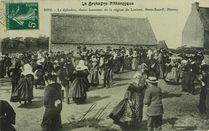 Le djibedao, danse bretonne de la région de Lorient, Pont-Scorff, Plouay |