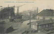 Vue Panoramique des Chantiers de la Loire |