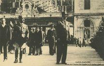 Visite de Charles de Gaulle le 23 Juillet 1945