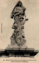 Statue de Notre-Dame des Naufragés de la Pointe du Raz (Oeuvre du Sculpteur Godebsky)  