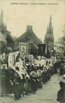 Pardon St-Mathurin, la Procession |