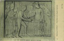 Bas-Relief de la Chapelle Sépulcrale   Lauzanne J.