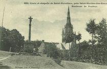 Croix et chapelle de Saint-Nicodème, près Saint-Nicolas-des-Eaux  