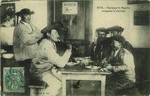 Equipage du Magoire mangeant la Cotriade |