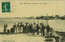 Sardinières à la Cale du Lohic |
