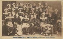 KOROLLERIEN Breiz-Izel, Danseurs de Basses-Bretagne |