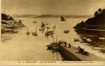 Le Continent et le Port-Clos vus des Hôtels | Seevagen L.