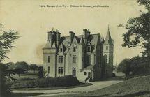 Château du Brossay, côté Nord-Est |