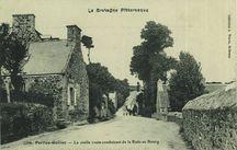La vieille route conduisant de la Rade au Bourg |
