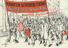 Maintien du pouvoir d'achat sauvegarde du service public |