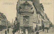 La Fontaine Monumentale es rues du Morbihan et Paul-Bert |