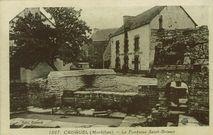 La fontaine Saint-Brieuc | Benard