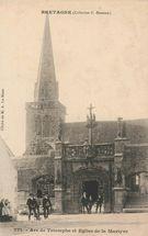 Arc de Triomphe et Eglise de la Martyre | Le MEUR A.