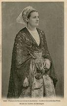 Femme de Douarnenez et Audierne |